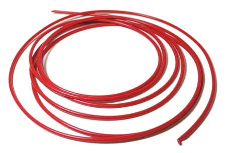 """Red PE Tubing,  1/8"""" O.D. x 10 Ft."""