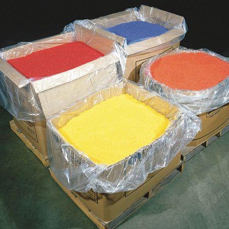 "72"" x 42"" Polyethylene Bin Liners,  2 mil,  Pk100"