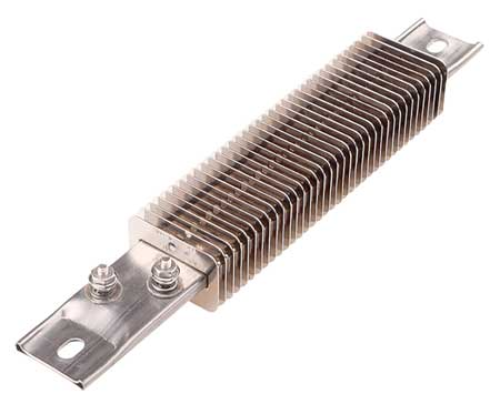 Finned Strip Heater, 12 In. L, 1200 Deg F