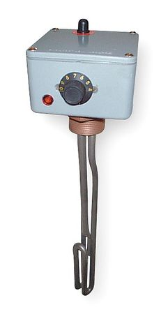 Spa/Hot Tub Heater, Thermostat, 20 In, 240V