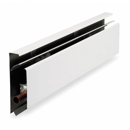 "96"" Hydronic Baseboard Heater,  White"