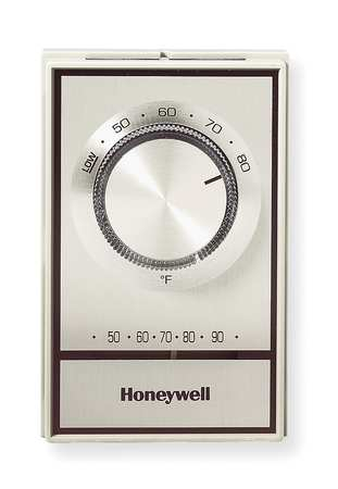 Line Voltage Mechanical Thermostat,  Heating Only,  120 to 277VAC