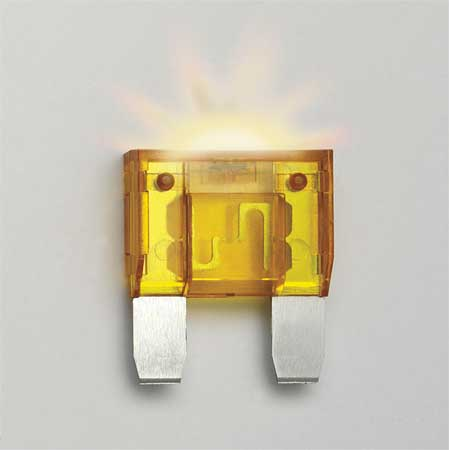 20A Time Delay Blade Plastic Fuse 12VDC