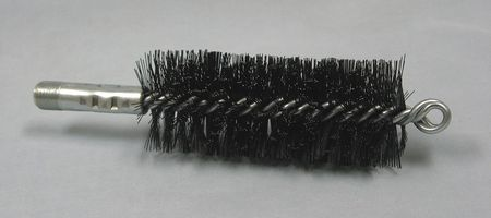 Flue Brush, Wire, L 4 1/2 In, Dia 1 3/4 In
