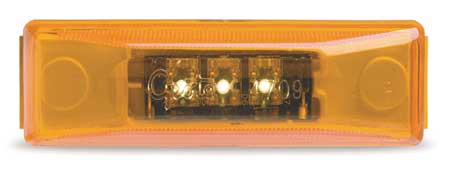 Marker Lamp, LED, 3 Diode, Yellow