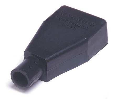 Terminal Protector, Plug-In, PVC, Black, PK5
