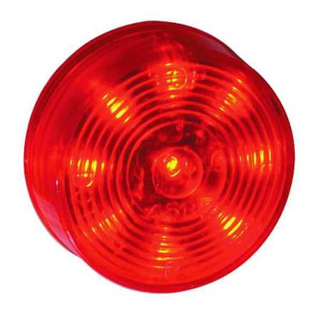 Lamp, 9 Diode, 2 In., LED, Red
