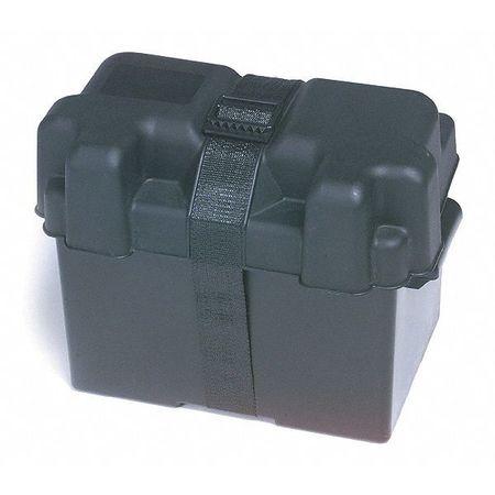 "Group 24 Battery Box, 13-1/2"" L, Black"