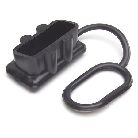 Protective Cap, Plug-In, PVC, Black
