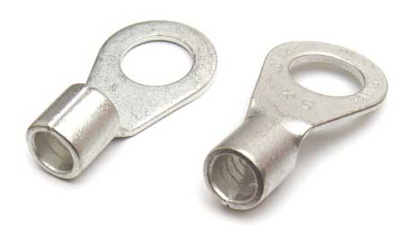 Lug Brazed Seam, 6 ga., Copper, PK10