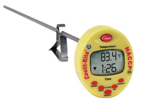"15"" Multiline LCD Digital Food Service Thermometer with -4 to 302 (F)"