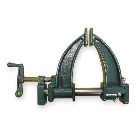 "3/4"" Deep Throat Pipe Clamp,  7"" Deep"