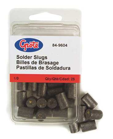 Solder Pellet with Flux, Green, PK25