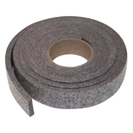 Felt Strip, F13, 1/4 In T, 2 x 60 In
