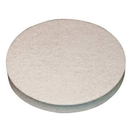 Felt Disc, F1 Grade, 1/4 In Thick, 8 In Dia
