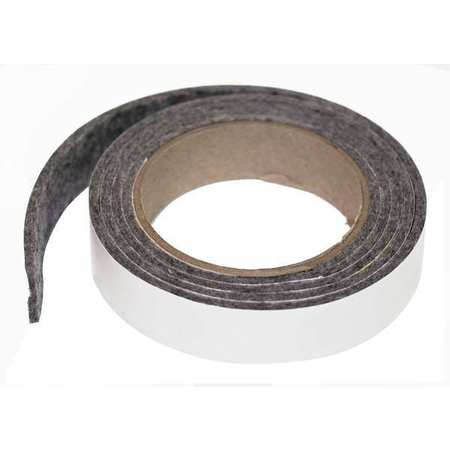 Felt Strip, F7, 1/4 In T, 1 1/2 x 120 In