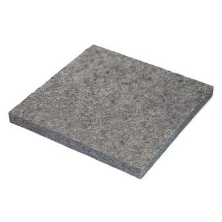 Felt Sheet, F5, 1/8 In Thick, 12 x 12 In