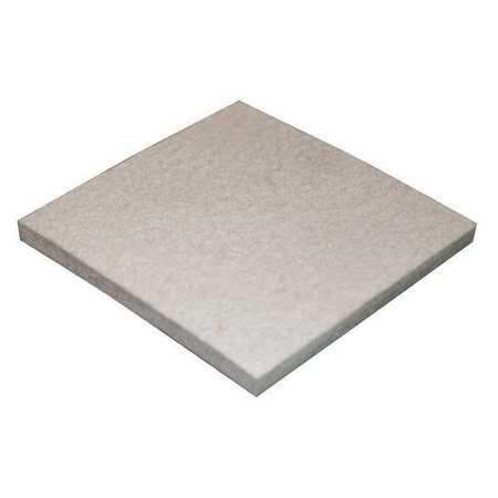 Felt Sheet, F5, 1/2 In Thick, 12 x 12 In