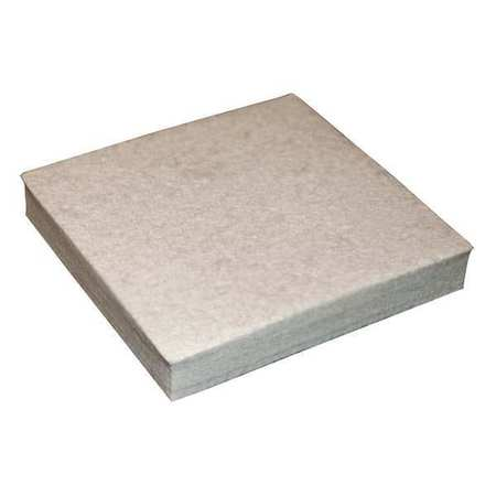 Felt Sheet, F5, 1 In Thick, 12 x 12 In