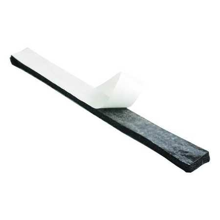 Felt Strip, F26N, 1/4 In T, 2 x 12 In