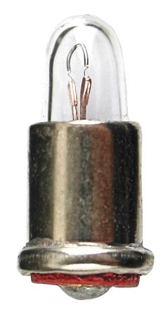Miniature Lamp, 338, 0.1W, T1 3/4, 2.7V, PK10