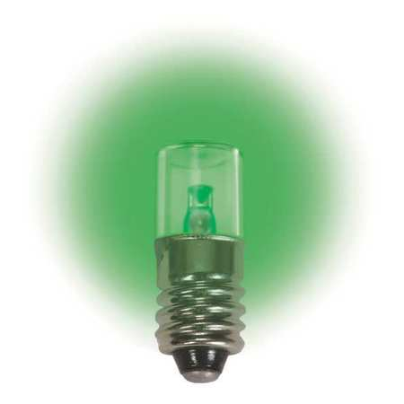 Miniature LED Bulb, LM1012MS, T3 1/4, 12V