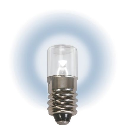 Mini LED Bulb, LM1006MS, 0.5W, T3 1/4, 6.3V