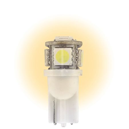Mini LED Bulb, L12V-WB, 0.9W, T3 1/4, 12V