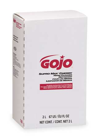 GOJO Hand Cleaner, Cherry, Tan, Refill, PK4