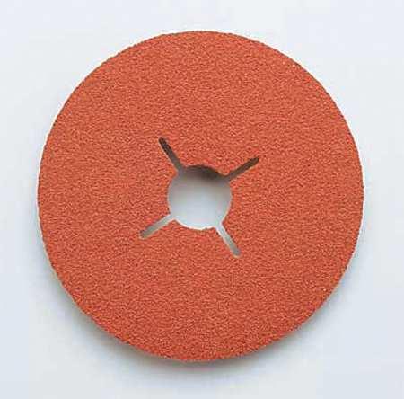 Fiber Disc, 5x7/8, 60G, PK25