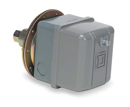 "Vacuum Switch, DPST, 20/25""Hg, 1/4-18 FNPS"