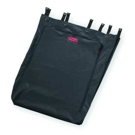 Linen Hamper Bag, Black, Vinyl