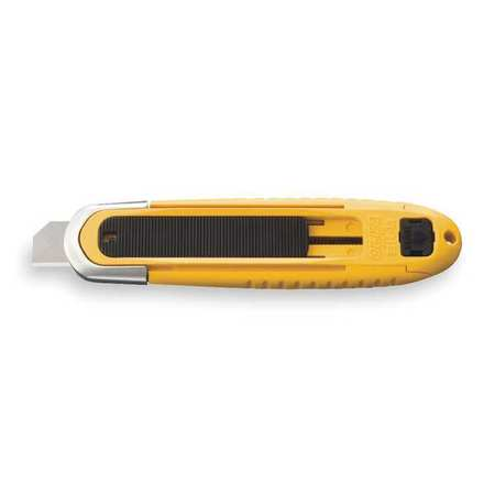 Safety Knife, 6 in., Black/Yellow