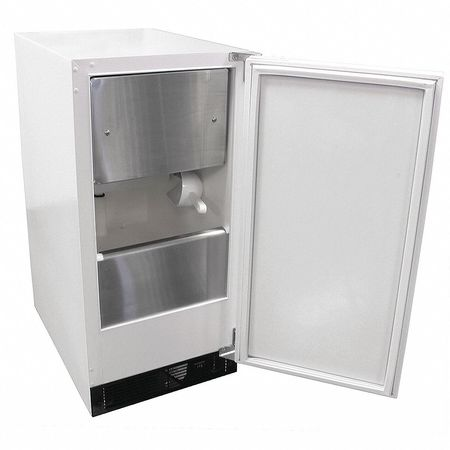 Ice Machine,  ADA Compliant 30 lb. White