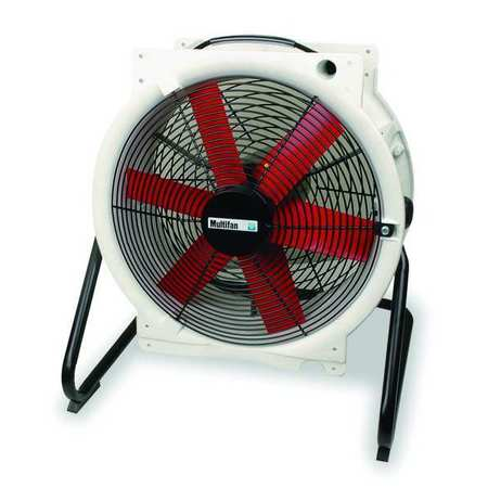 "16"" Mobile Corrosion Resistant Air Circulator/3790 cfm"