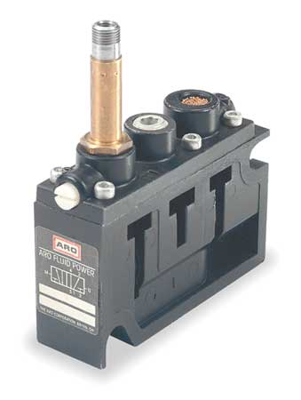 Solenoid Air Control Valve, 1/4 In, 4-Way