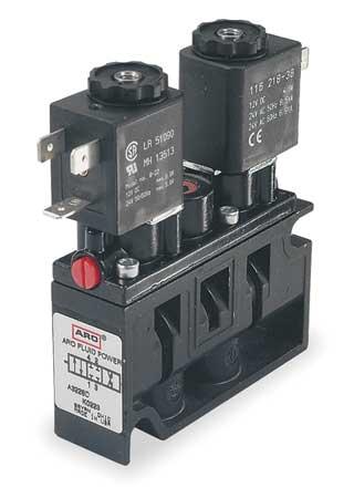 Solenoid Air Control Valve, 1/4 In, 120VAC