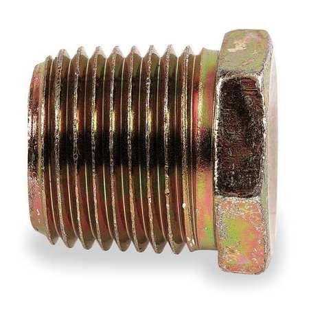 Adpt, MNPT, 3/8-18, Pipe Plug