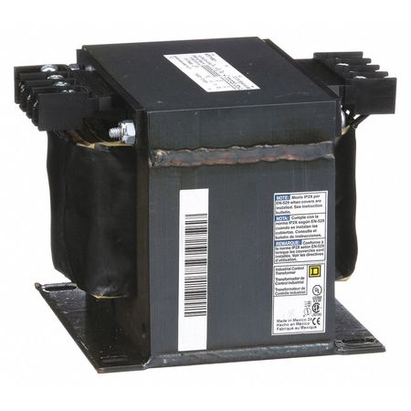 Control Transformer, 1kVA, 4.43 In. H