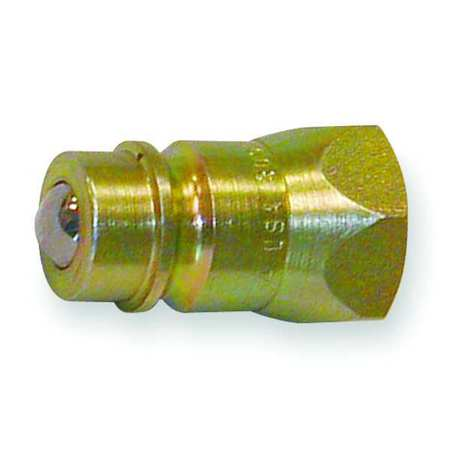 Coupler Nipple, 1/2-14, 1/2 In. Body, Steel