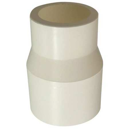"1"" x 3/4"" CTS Hub CPVC Reducer Sched 40"