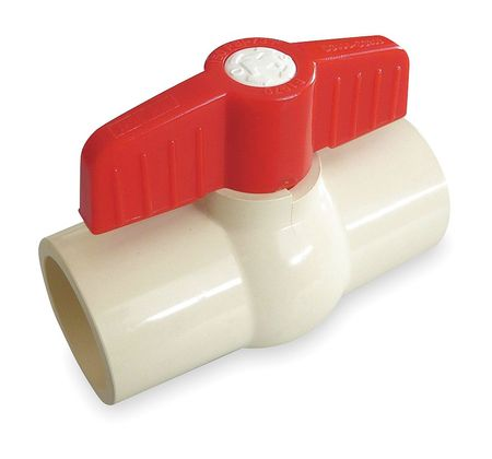 "1-1/2"" Socket CPVC Ball Valve Inline"