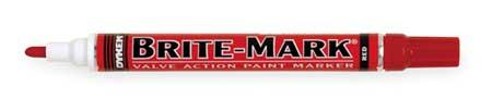 Paint Marker, Brite Mark(R) 916, Red