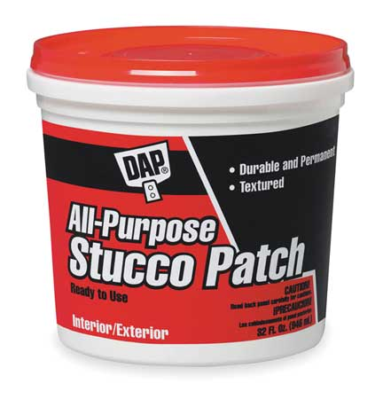 All-Purpose Stucco Patch, 1 gal., White