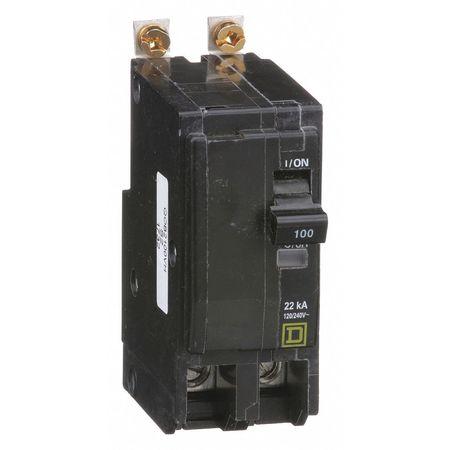 2P High Interrupt Capacity Circuit Breaker 100A 120/240VAC