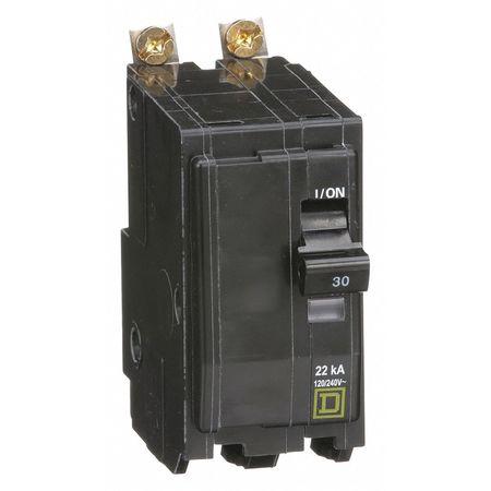 2P High Interrupt Capacity Circuit Breaker 30A 120/240VAC