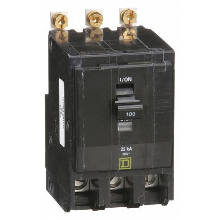 3P High Interrupt Capacity Circuit Breaker 100A 240VAC