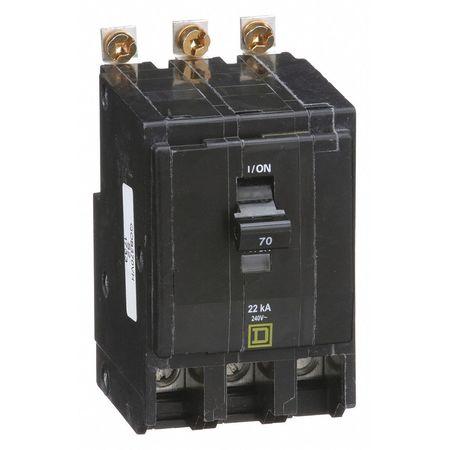 3P High Interrupt Capacity Circuit Breaker 70A 240VAC