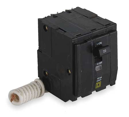 3P Switched Neutral Plug In Circuit Breaker 20A 240VAC