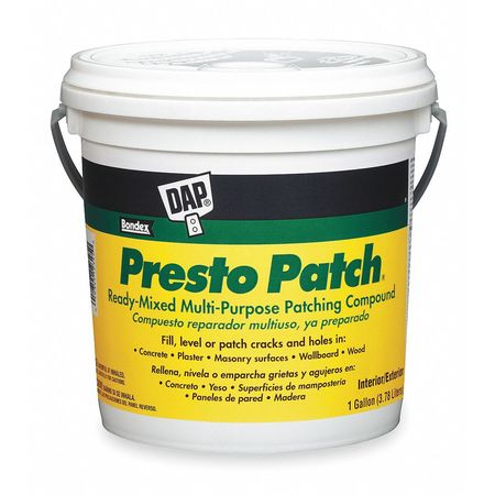 Patching Compound, 1 gal, Pail, Off-White